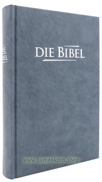 Die Bibel, Elberfelder TA, grau-blau / Buch