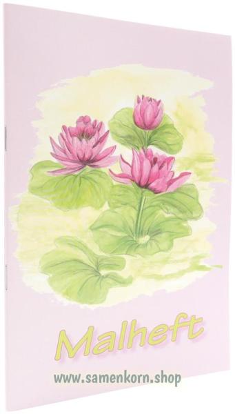 """Malheft """"Blüten"""" / Heft"""