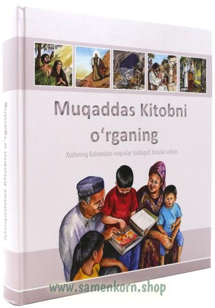 Muqaddas Kitobni o'rganing / Kinderbibel usbekisch