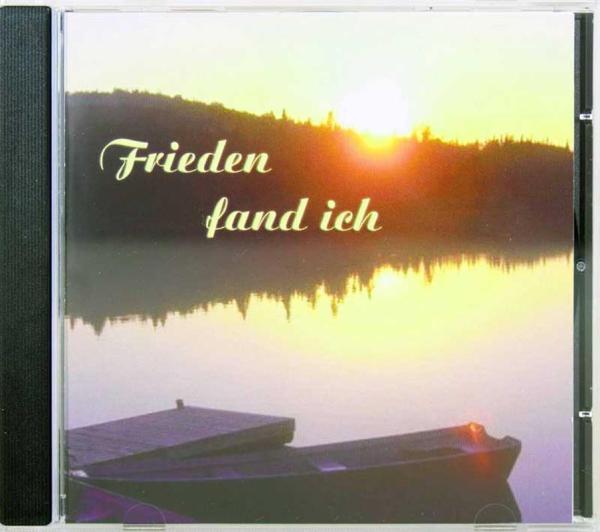 Frieden fand ich CD