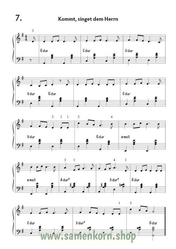 Christliche Lieder für Akkordeonanfänger / Notenheft+CD